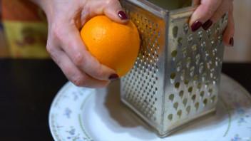 Апельсиновый пирог с цедрой - фото шаг 2