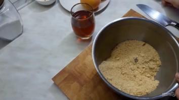 Вкусный десерт из персиков - фото шаг 2
