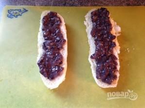 Сэндвичи с фасолевым пюре и куриным мясом - фото шаг 8