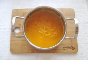 Тыквенный суп-пюре с мясом - фото шаг 8