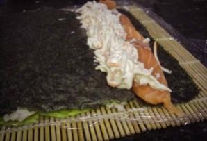 Суши с авокадо - фото шаг 2