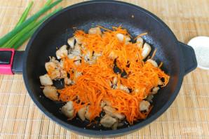 Куриная грудка с корейской морковью - фото шаг 5