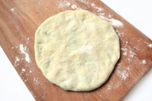 Хычины с сыром - фото шаг 7