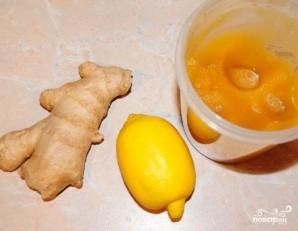 Имбирный напиток от простуды - фото шаг 1