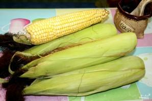 Кукуруза в мультиварке на пару - фото шаг 1