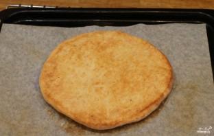 Толстый лаваш без дрожжей - фото шаг 4