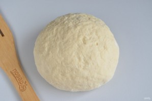 Соленая коса с сыром и беконом - фото шаг 4