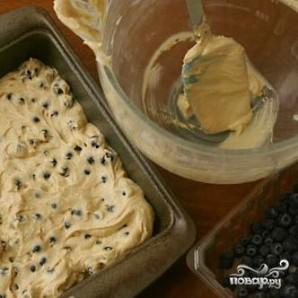 Пирог с черникой и коричневым сахаром - фото шаг 2