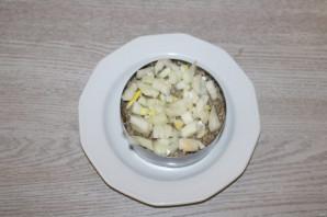 Салат из риса и шпрот - фото шаг 6