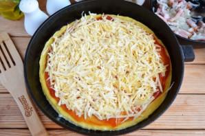 Омлет в стиле пиццы - фото шаг 7