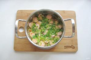 Суп с сосисками и рисом - фото шаг 8