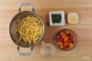 Запечённая паста с креветками - фото шаг 1