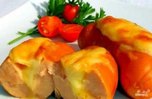 Сардельки с сыром в духовке - фото шаг 4