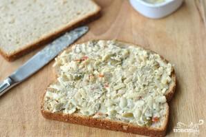 Сэндвичи с оливками и сыром - фото шаг 5