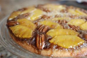 Ананасовый пирог с орехами пекан - фото шаг 14