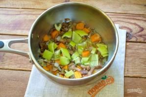 Грибной суп с лисичками - фото шаг 4