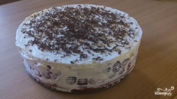 Пирог с маскарпоне и вишней - фото шаг 4