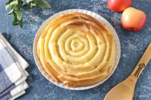 Низкоуглеводная шарлотка с яблоками - фото шаг 9