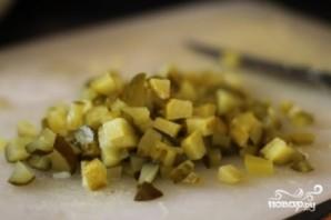 Салат куриный с фасолью - фото шаг 5