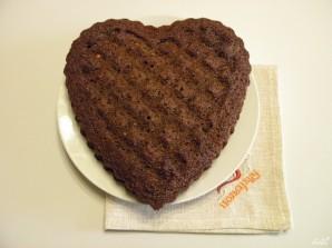 Торт в виде сердца - фото шаг 11