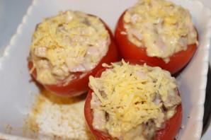 Фаршированные помидоры ветчиной и сыром - фото шаг 3