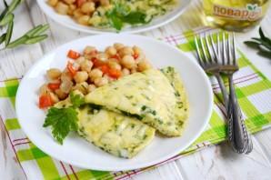 Омлет со шпинатом за 10 минут - фото шаг 7