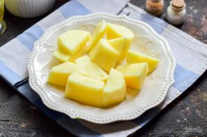 Картошка с фасолью в мультиварке - фото шаг 4