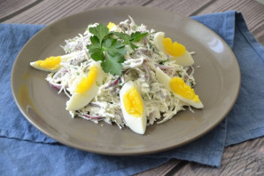 Салат с редькой и говядиной - фото шаг 6