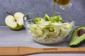Салат из авокадо и капусты - фото шаг 5