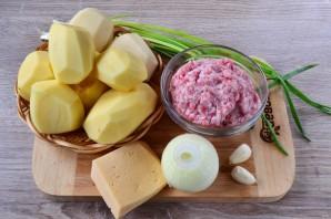 Картофельный гратен с мясом - фото шаг 1