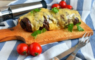 Рулет из говядины под сыром - фото шаг 7