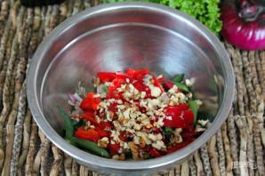Салат из говядины с фасолью - фото шаг 6