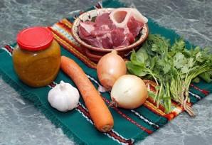 Суп с говядиной и рисом - фото шаг 1