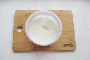 Домашний сыр из кефира и яиц - фото шаг 3