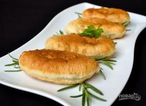 Пирожки с картошкой, жаренные на сковороде - фото шаг 12