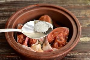 Горбуша в соевом соусе в духовке