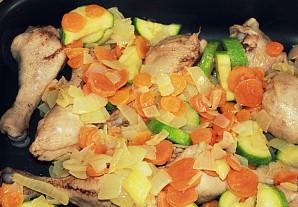 Рис с кабачками и курицей - фото шаг 3