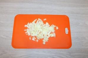 Салат с баклажанами и фасолью - фото шаг 4