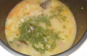 Фасолевый суп на говяжьем бульоне - фото шаг 7