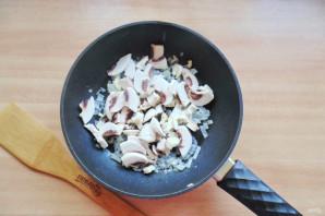 Паста с баклажанами и грибами