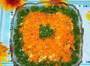 "Салат с печенью ""Ермак"" - фото шаг 7"