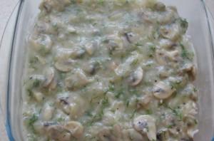 Рис, запеченный с грибами - фото шаг 12