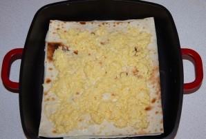 Пирог из тонкого лаваша с сыром - фото шаг 2