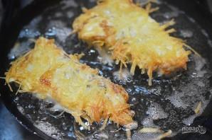 Рыбка в картофельной корочке - фото шаг 8