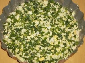 Пирог с яйцом и зеленью - фото шаг 12