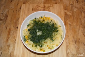 Салат с ананасом, и курицей, и кукурузой - фото шаг 4