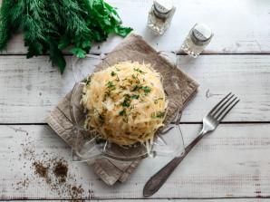Слоеный салат с яблоками и сыром - фото шаг 7