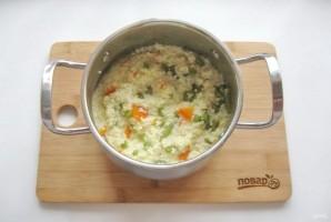 Пшенная каша с овощами - фото шаг 8