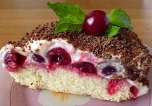 Вишневый пирог Наслаждение - фото шаг 8