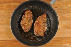 Куриная грудка с салатом - фото шаг 2